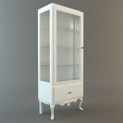 3d model display cabinet vitrine