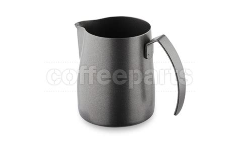 Yami Teflon Milk Jug 300 Ml Black coffee parts 360ml teflon black design series milk jug