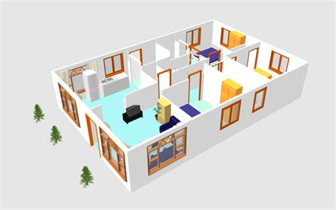 3d house plan software free download 3d small house plane idea 102 free download form dwg net com