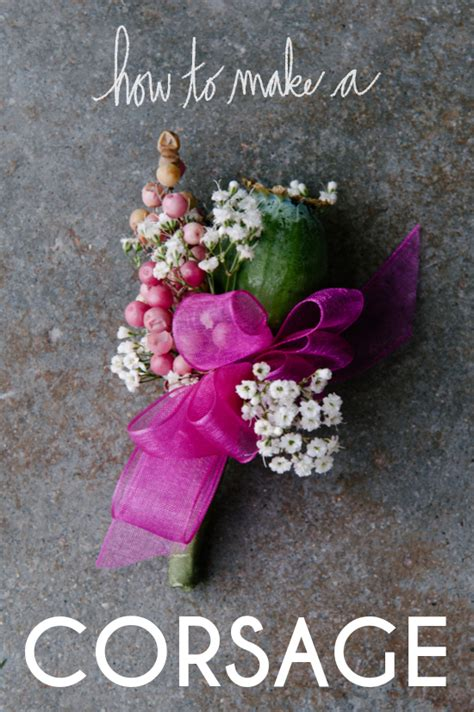 Learn How To Diy A Corsage by How To Make A Corsage A Practical Wedding Ideas
