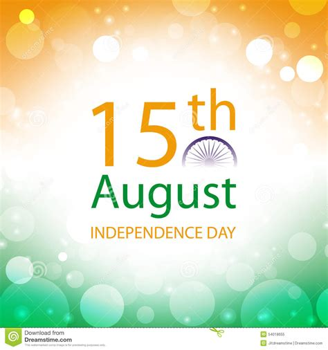 how to make independence day greeting card india independence day greeting card stock vector image