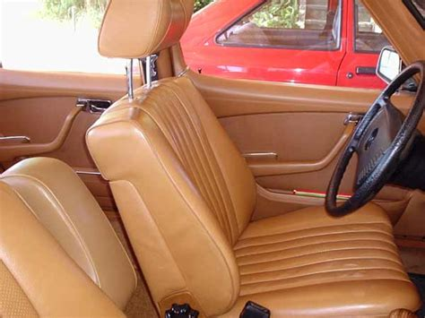 mb tex upholstery finally got a w116