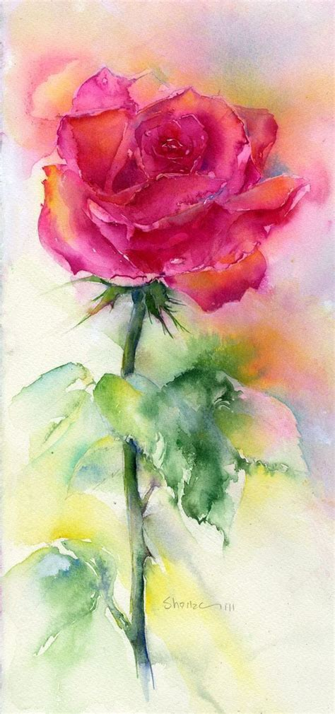 libro watercolour flower portraits 20 best ideas about watercolor rose tattoos on colorful rose tattoos 3d rose