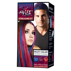 splat hair color multi colored splat kit multi color