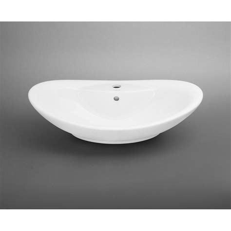 oval ceramic vessel sink ronbow oval ceramic vessel bathroom sink in white 200223 wh