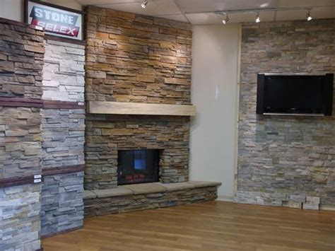 selex showroom bedroom and wall fireplace