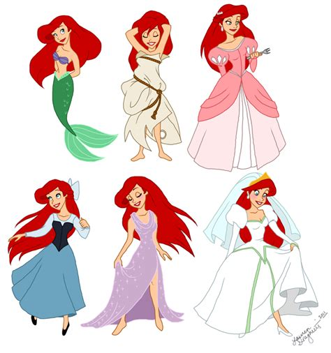 ariel s costumes for redheads an inkling