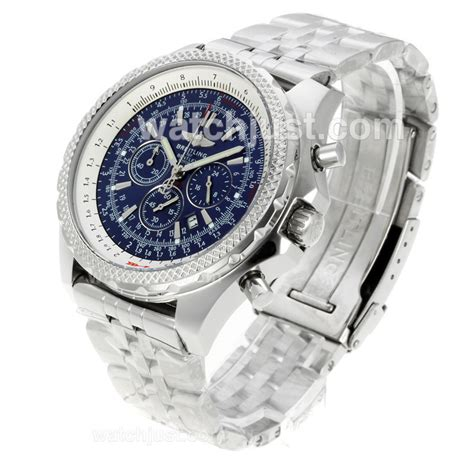 Breitling For Bentley Blue Replica Breitling For Bentley Motors Working Chronograph