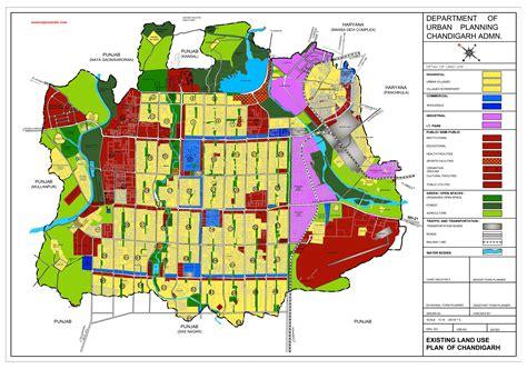 layout of land use existing land use plan map chandigarh ut pdf download
