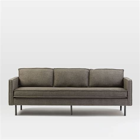 west elm axel sofa review axel sofa 89 quot west elm