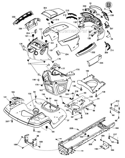 husqvarna lawn mower parts diagram wiring diagram husqvarna lawn mower yth 22 42 wiring