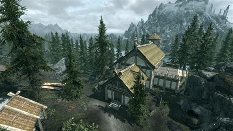how do you buy a house in solitude steam workshop skyrim heartfire lakeview manor