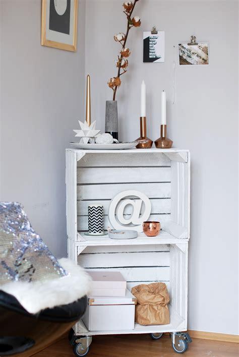 deko mit obstkisten interior obstkisten weihnachts inspiration