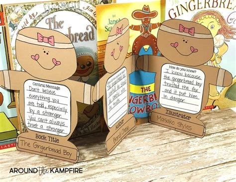 printable version gingerbread man story comparing versions of the gingerbread man turning readers
