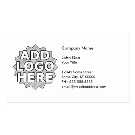 design your own business card template zazzle