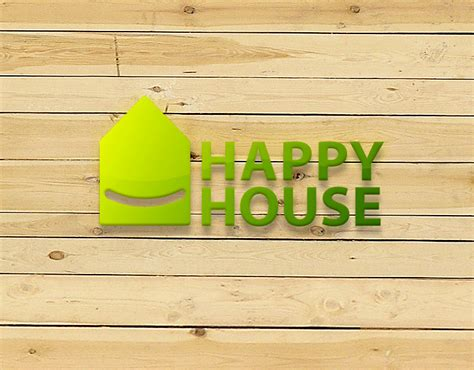 the happy house logo for happy house