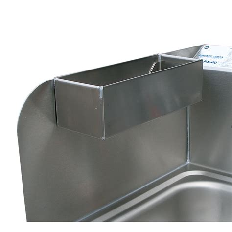 100 kitchen sink splash guard advance tabco 7 ps advance tabco 7 ps 48 removable perforated utility tray