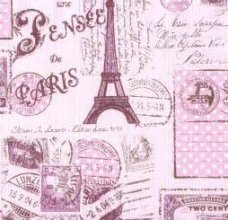 Kids wallpaper Paris Boys & Girls rose 93630 2