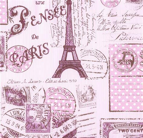 Paper Wallpaper For Walls by Kids Wallpaper Paris Boys Amp Girls Rose 93630 2