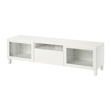 besta ikea tv unit best 197 tv unit lappviken sindvik white clear glass