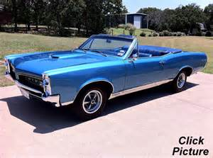 1967 Pontiac Convertible For Sale Classic Cars For Sale Myrod