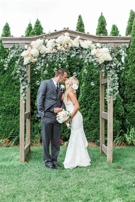 Wedding Arch by The Smarter Way To Wed Wooden Arbor Wedding Ceremony