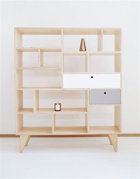 17 best ideas about plywood bookcase on