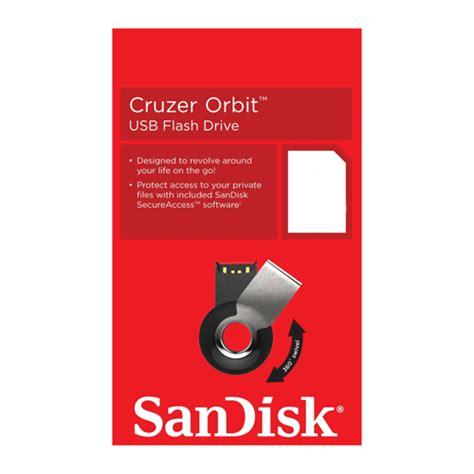 Sandisk Orbit 32gb sandisk cruzer orbit usb flash drive sdcz58 032g 32gb black jakartanotebook