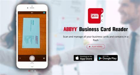 Best Business Card Scanner App 2018