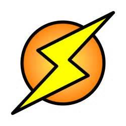 Lightning Bolt Logo File Lightning Bolt On Circle Svg