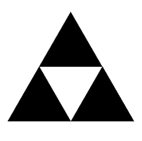 what shape is upstide down triangel sell out week the sierpinski code mindless productivity