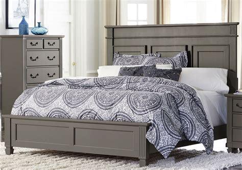 gray king bed granbury gray king panel bed 1911k 1ek homelegance