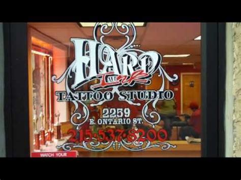 hard ink tattoo studio kdon tv visits ink studios