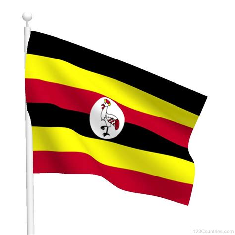 flags of the world uganda national flag of uganda 123countries com