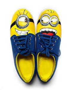 minion shoes painted minion shoes by ek number