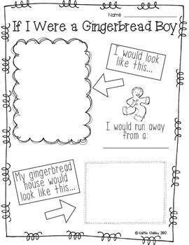 preschool gingerbread man printable book 96 best images about gingerbread men on pinterest math