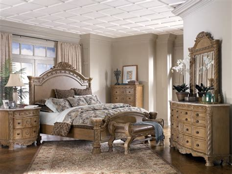 north shore bedroom furniture ashley furniture north shore sleigh bedroom set in dark