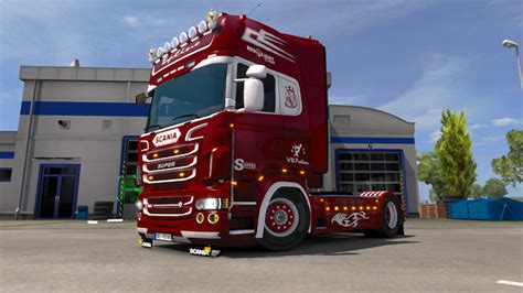 Lkw Modell Lackieren by Ets 2 Scania By Rjl Lackierung Mit Farbwahl V 1 2 Skins