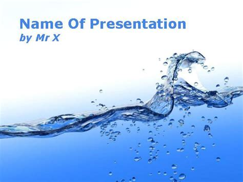 Water Powerpoint Templates 30 best and free powerpoint templates to