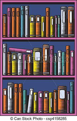 20 Bookcase Vecteur Clipart De Biblioth 232 Que Editable Vecteur