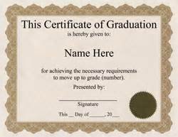 Free Graduation Certificate Template by Free Word Certificate Templates Wording Geographics