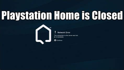 playstation home is closed