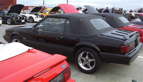 1990 25th anniversary mustang black 1990 ford mustang 25th anniversary convertible