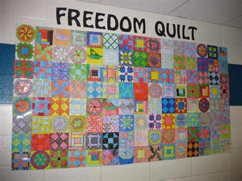 mrs s class we ve made our freedom quilt