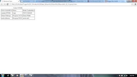 berbagi aneka info membuat link di gambar header blog membuat tabel sederhana menggunakan html ilmu sembilan dua