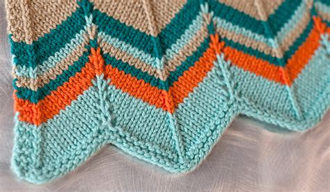 chevron baby blanket knitting pattern patterns using ewe ewe ewe ewe yarns