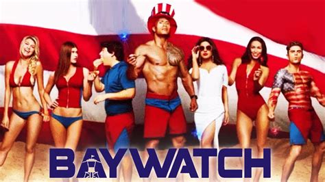 Watch Baywatch 2017 Extended Full Movie Priyanka Chopra S Baywatch Poster With Dwayne Johnson Out Youtube