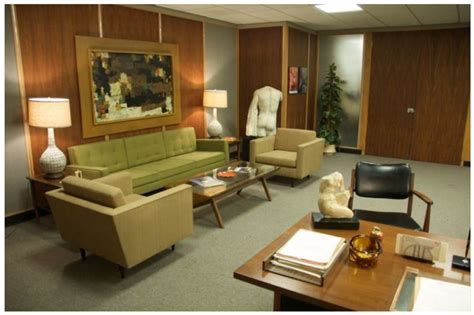 mad men office get that vintage mad men look in your office furniture