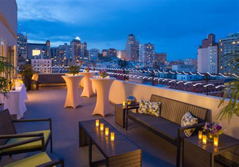 small wedding venues in sf bay area san francisco rooftop weddings receptions in union square
