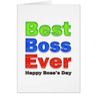 Bosses Day Card Template by National Day Cards National Day Card Templates
